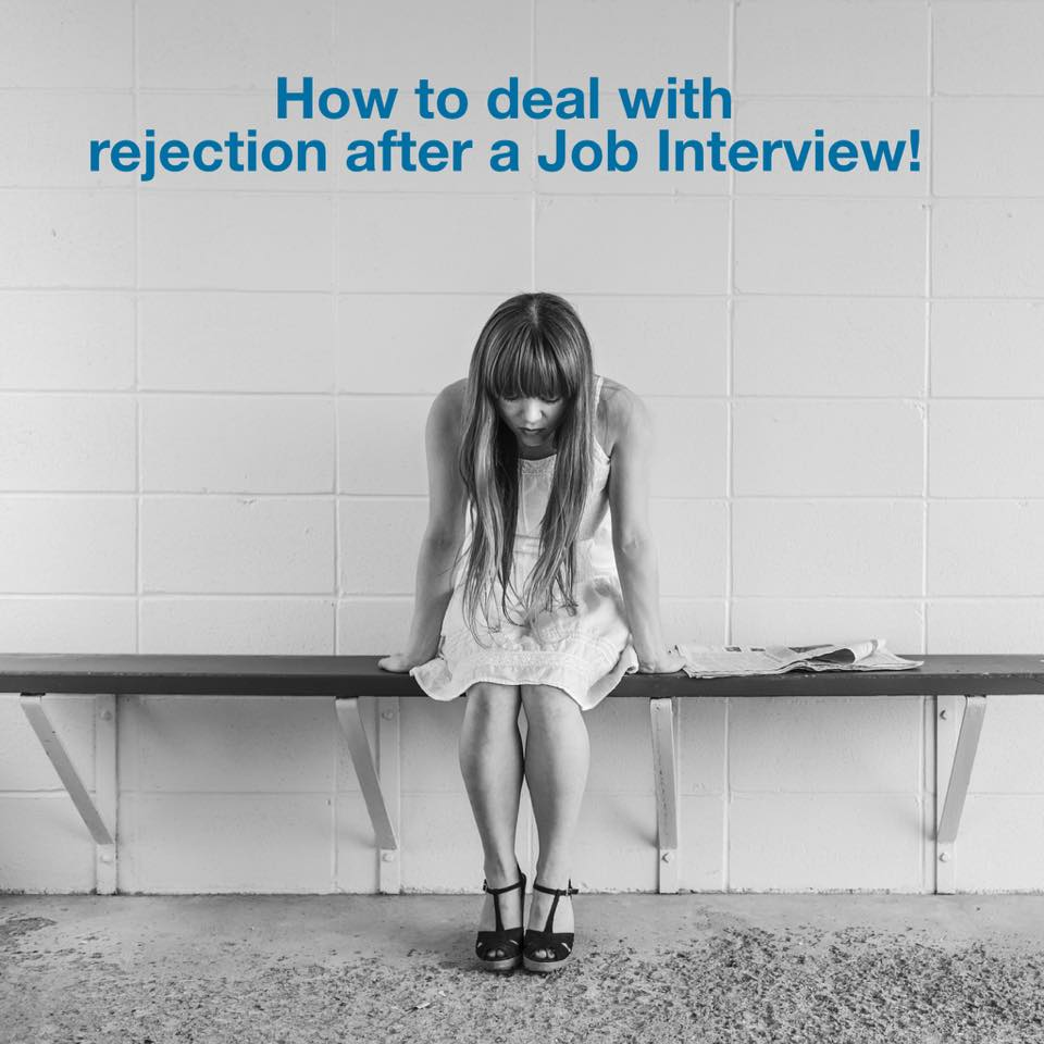 How to deal with Rejection after Interview